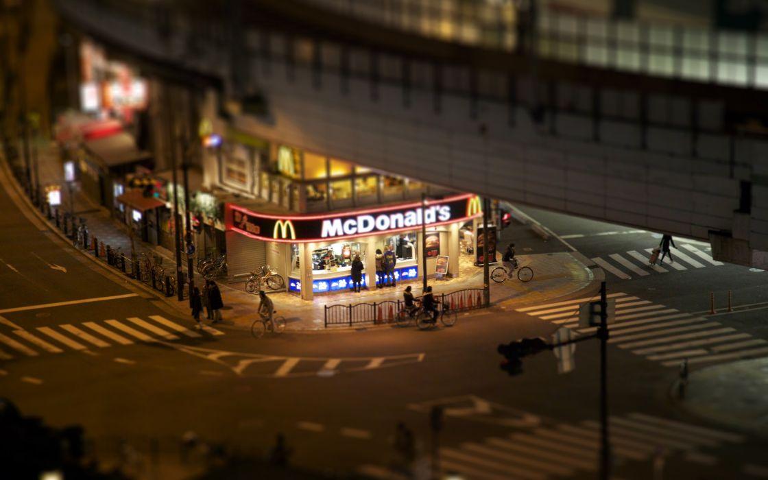 McDonald fast-food wallpaper