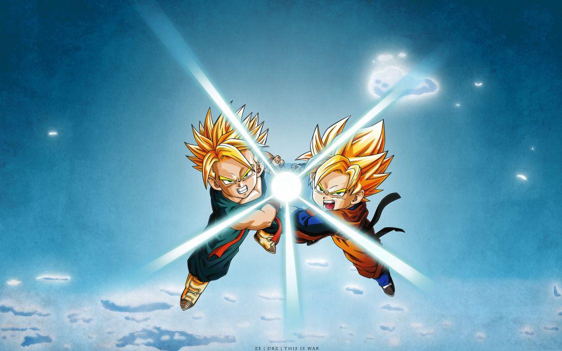 Dragon Ball Trunks Son Goten wallpaper