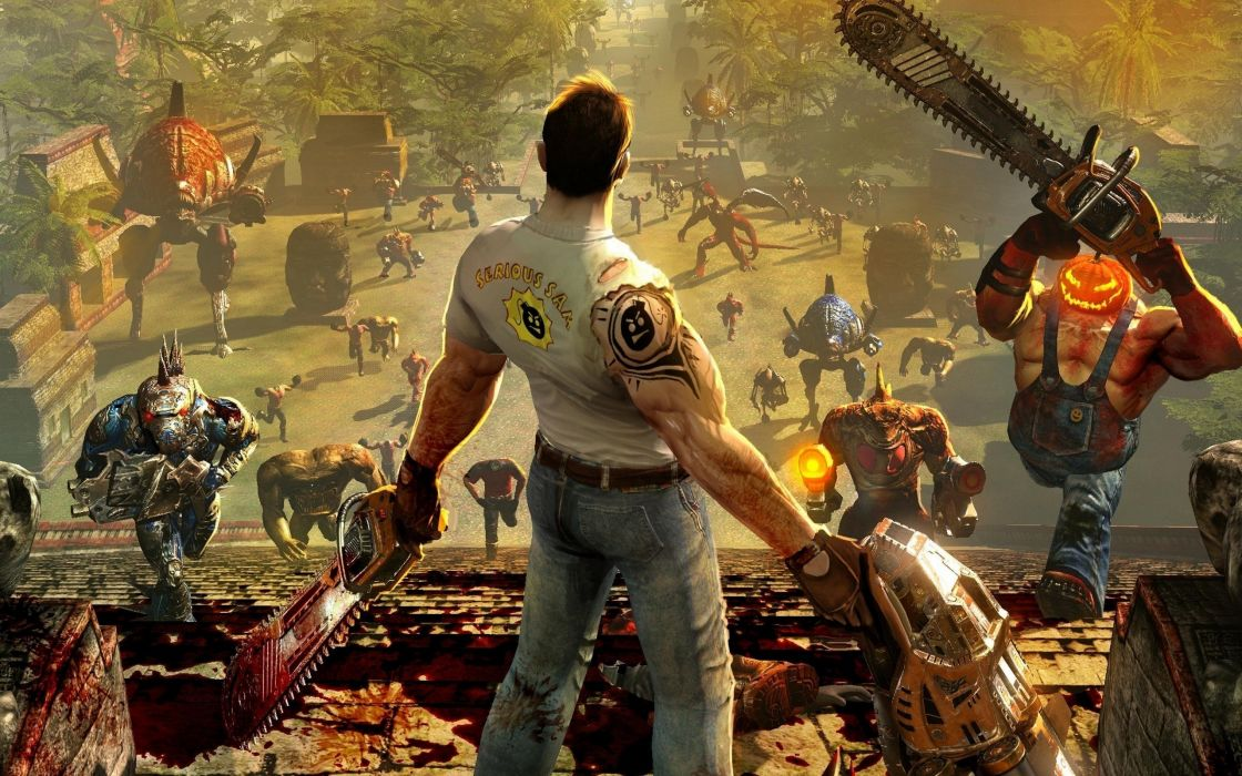 Serious Sam HD - The second encounter wallpaper