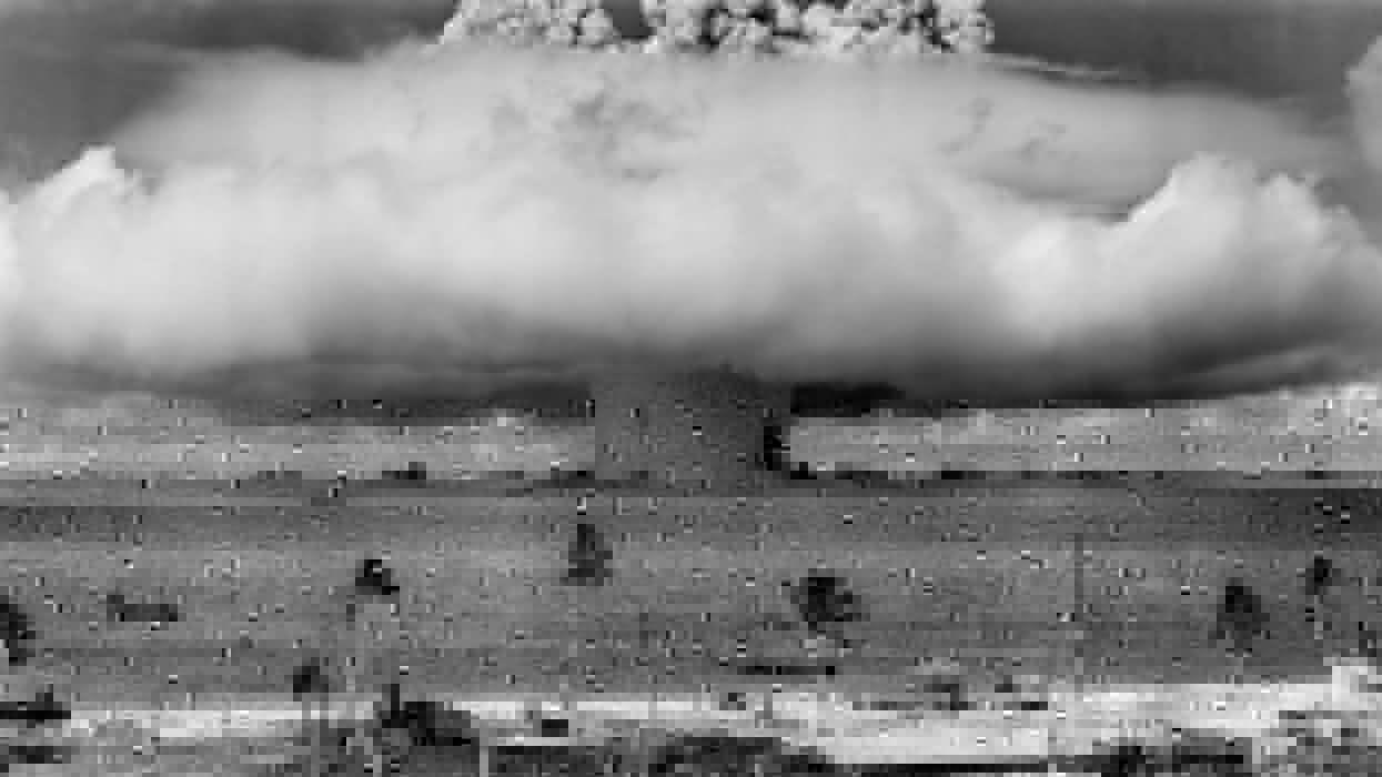Atomic explosion wallpaper