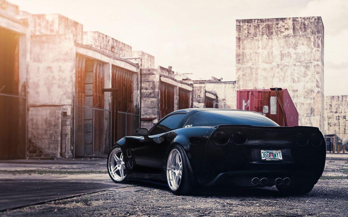 Amazing ADV1 Corvette wallpaper
