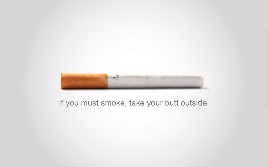 Anti smoke campaign wallpaper