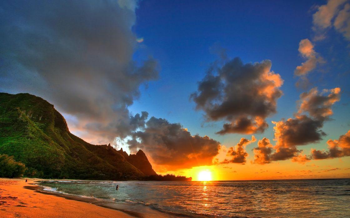 Great beach on Kauai wallpaper