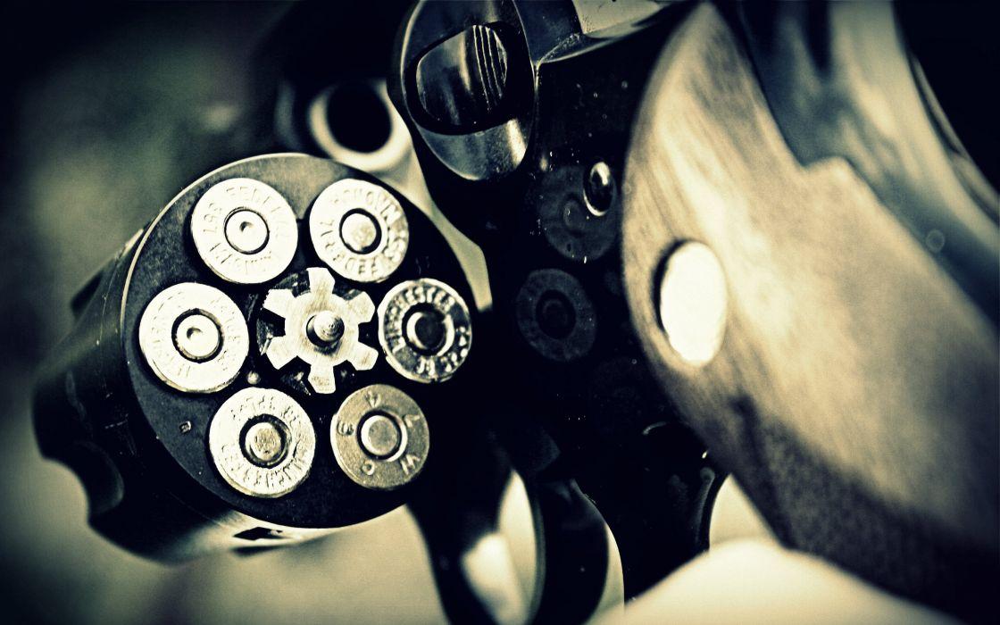 Revolver gun wallpaper