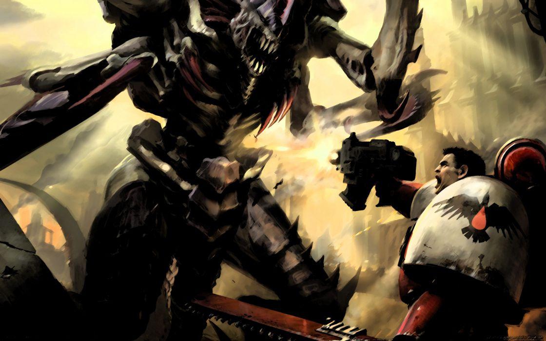 Warhammer 40k - Black templar wallpaper