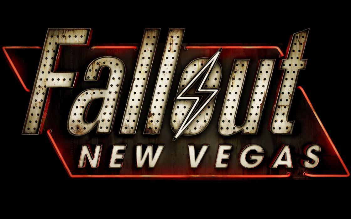 Fallout New Vegas logo wallpaper