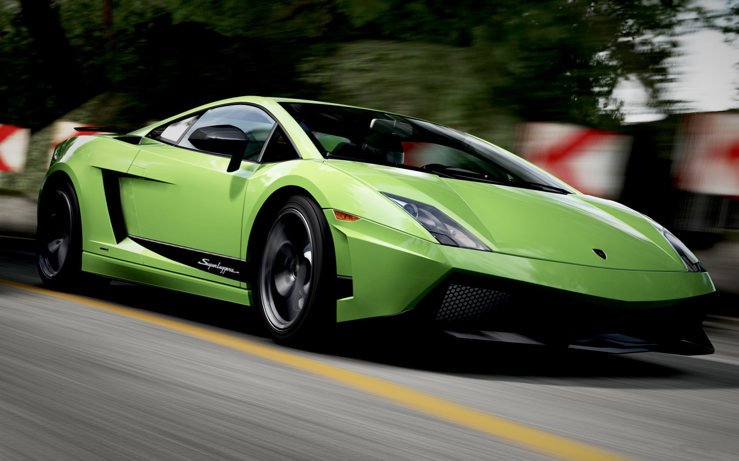 Dark Green Lamborghini Gallardo Green Lamborghini Gallardo