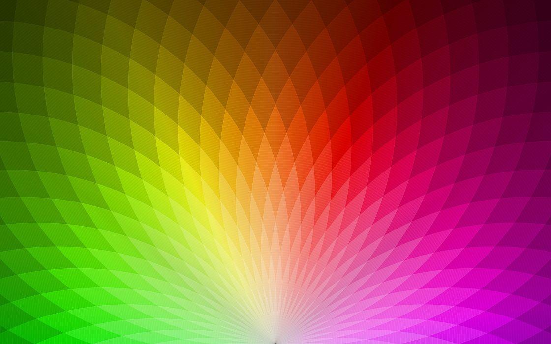 Spectral rainbow wallpaper