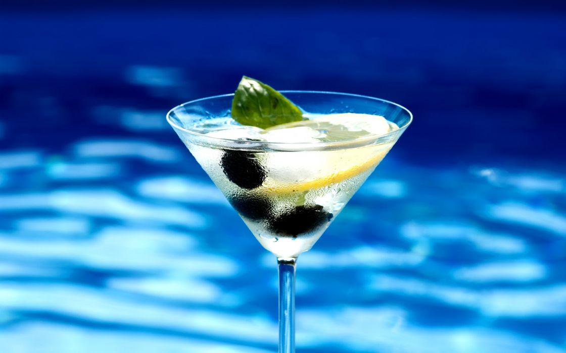 Summer cocktail wallpaper
