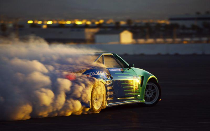 Smoke drift wallpaper