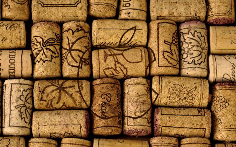 Apple wine bottle closures wallpaper