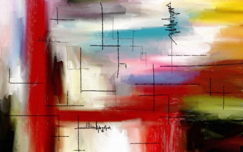 Modern canvas wallpaper