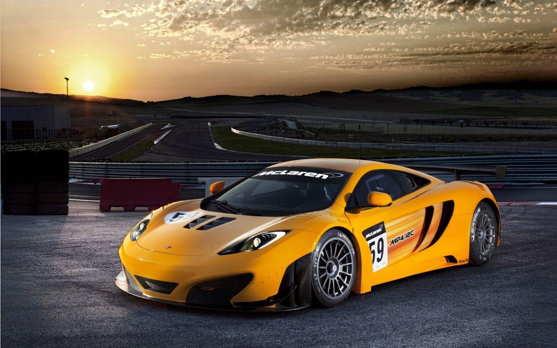 McLaren MP4-12C GT3 wallpaper