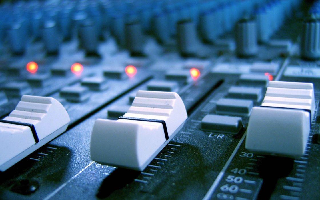 Audio mixer wallpaper