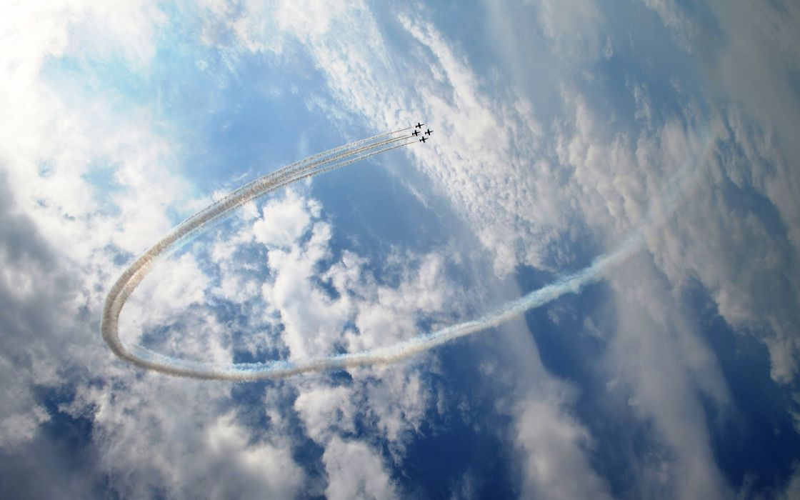 Air stunts wallpaper