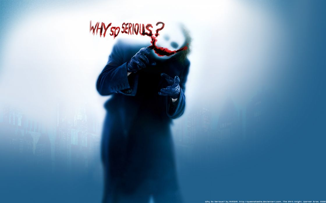 Batman - The Dark Knight - Why so serious wallpaper