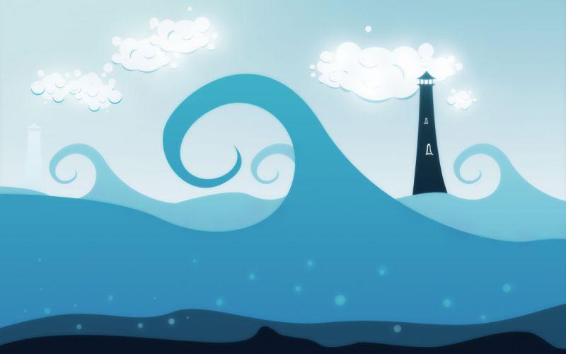 Dream of sea wallpaper