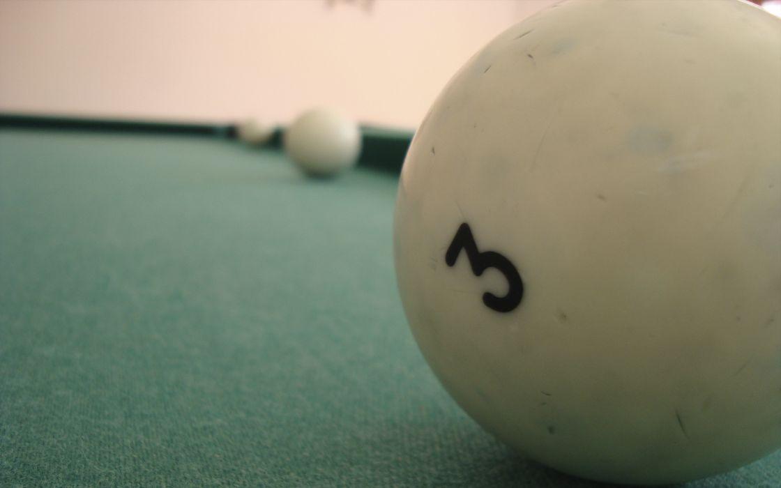 A pool ball wallpaper