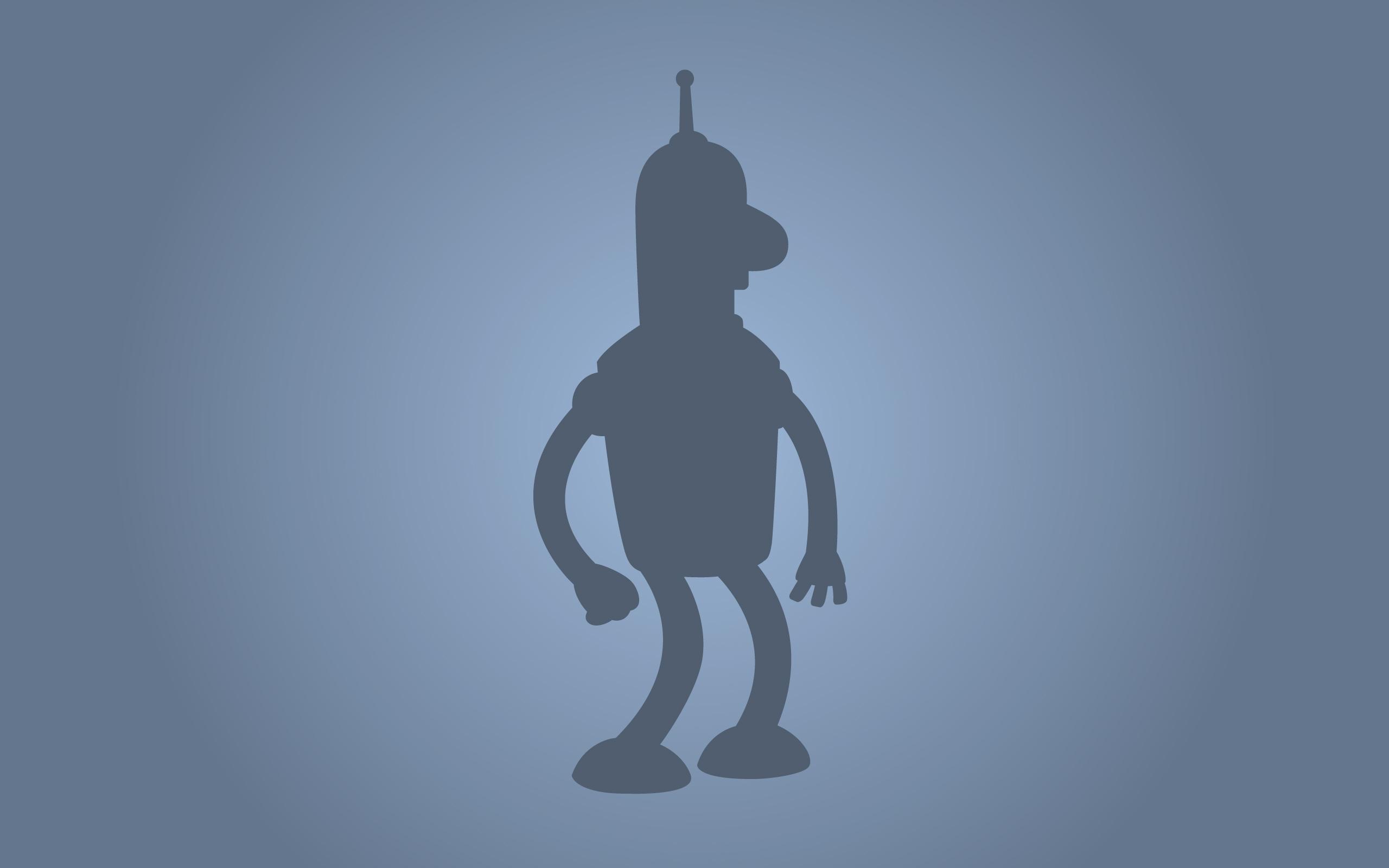 Bender - Futurama wallpaper | 2560x1600