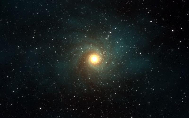 Vortex in the space wallpaper