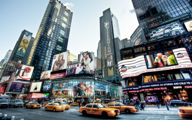 The beauty of New York city wallpaper