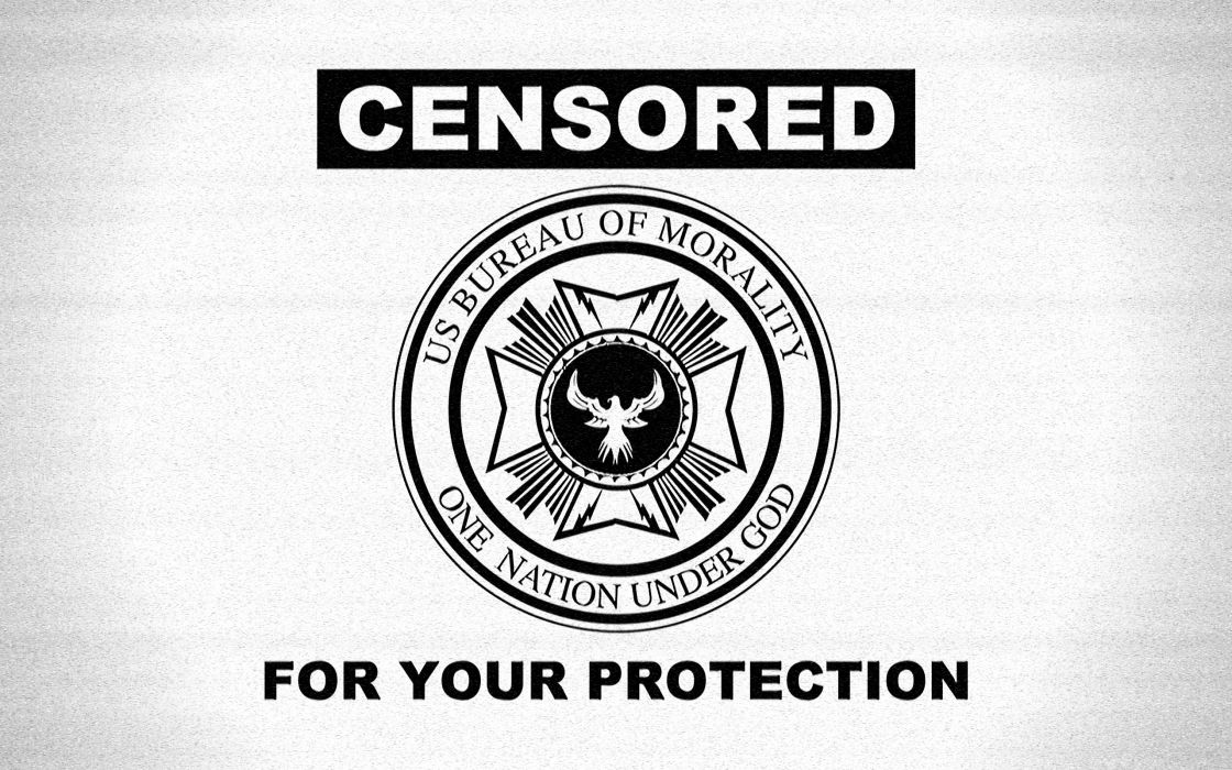 Censored for your protection wallpaper