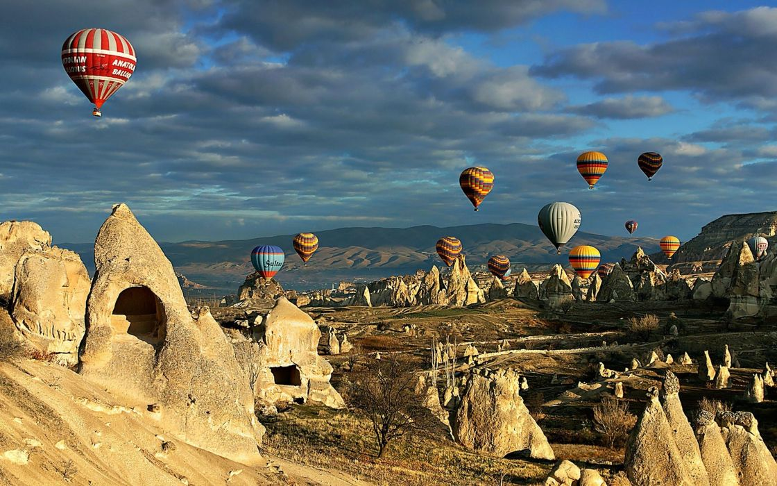 Hot air ballons - Cappadocia wallpaper