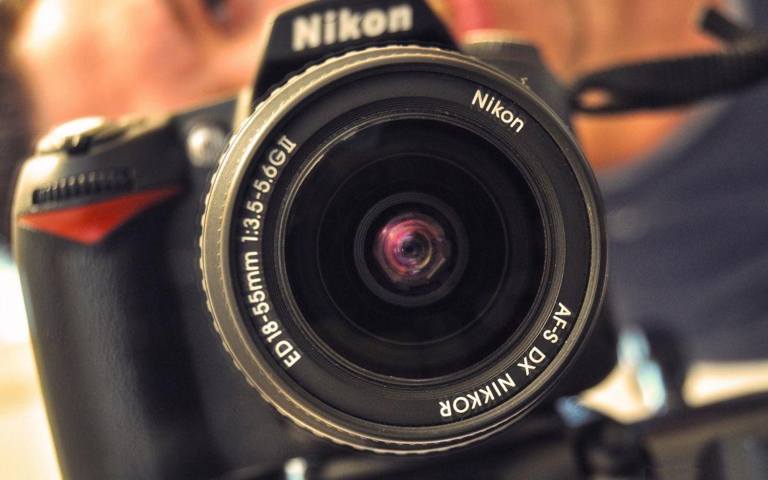 I love Nikon D90 wallpaper