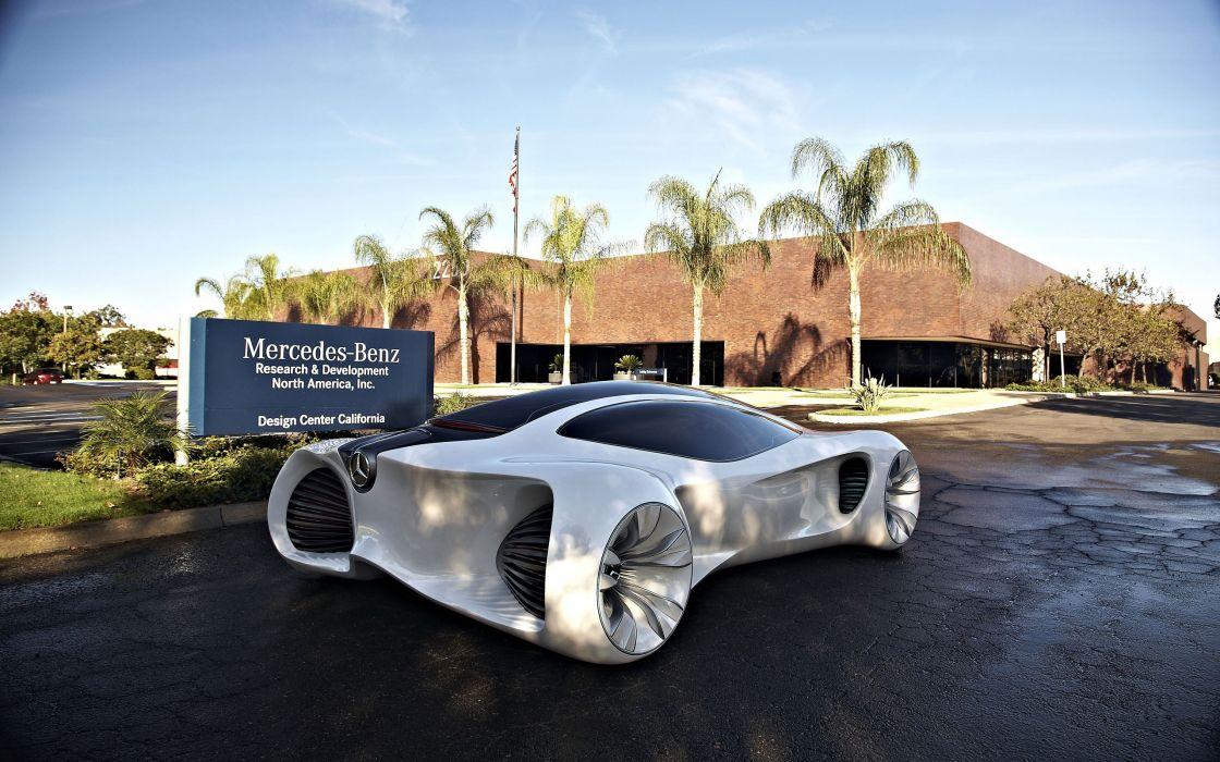Mercedes benz BIOME concept wallpaper