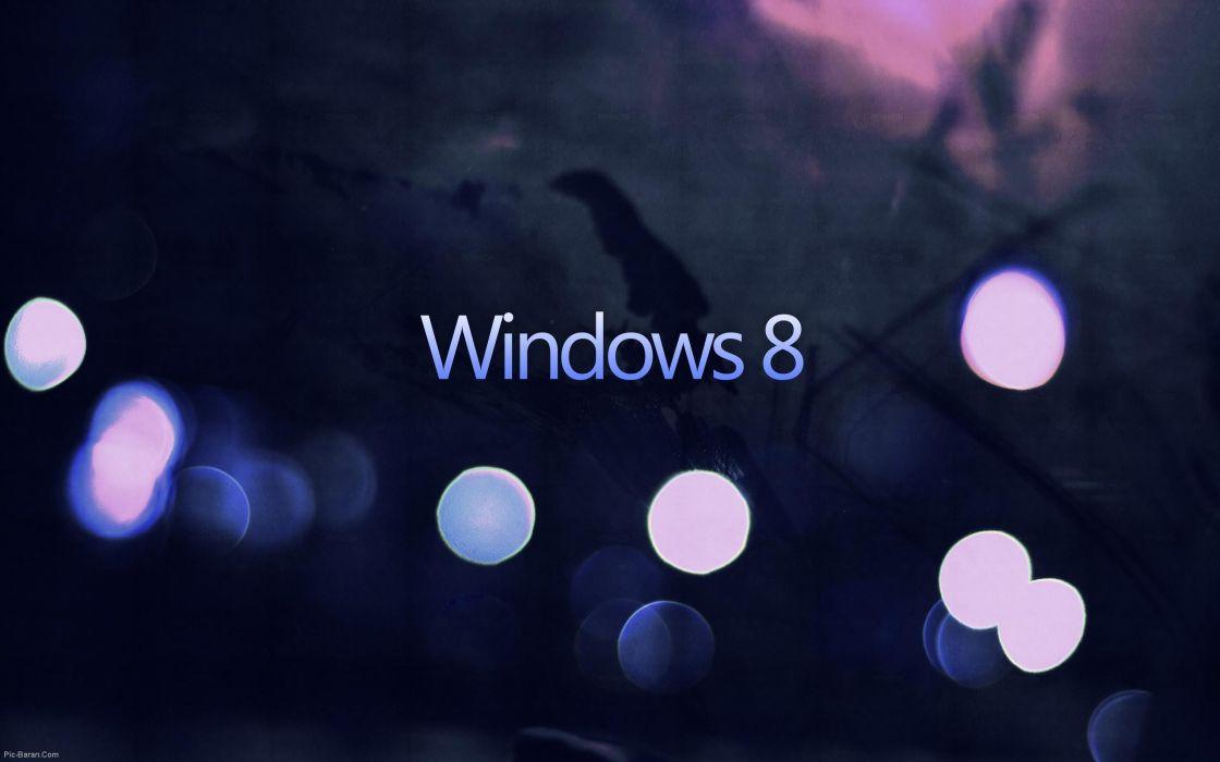 Lights of Windows 8 wallpaper
