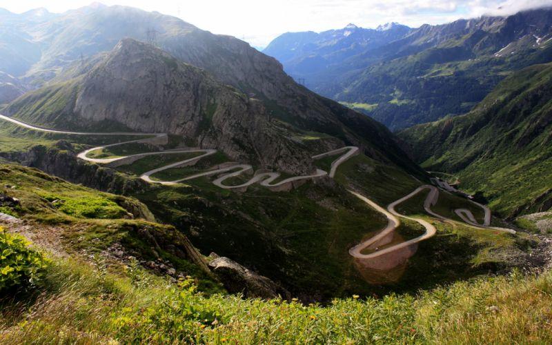 Gotthard Pass - Switzerland wallpaper