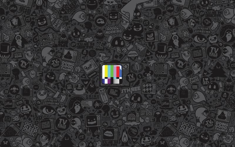 TV kills everything wallpaper