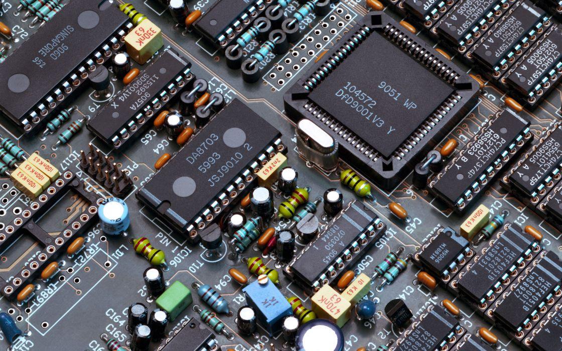 Hi-Tec circuit board wallpaper