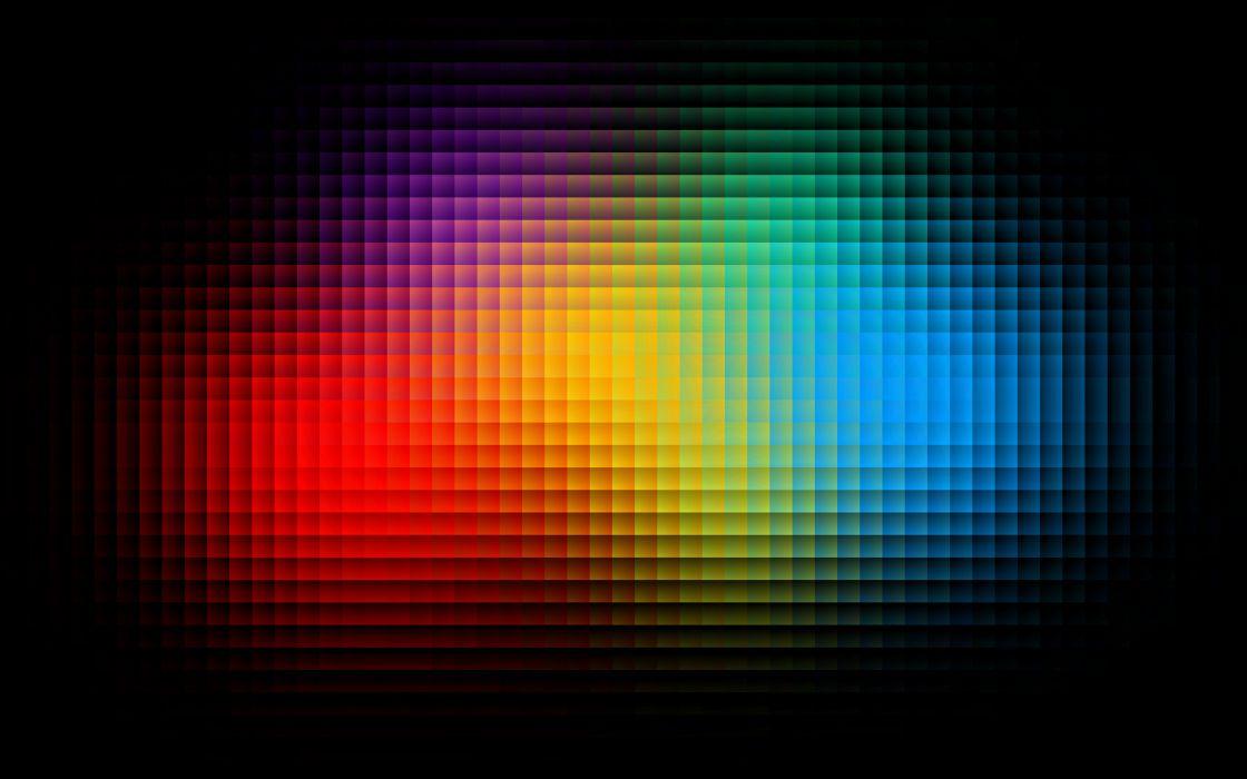 Colorful pixels wallpaper