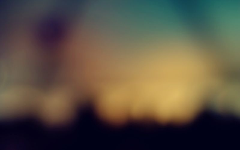 Blurred sky at sunset wallpaper