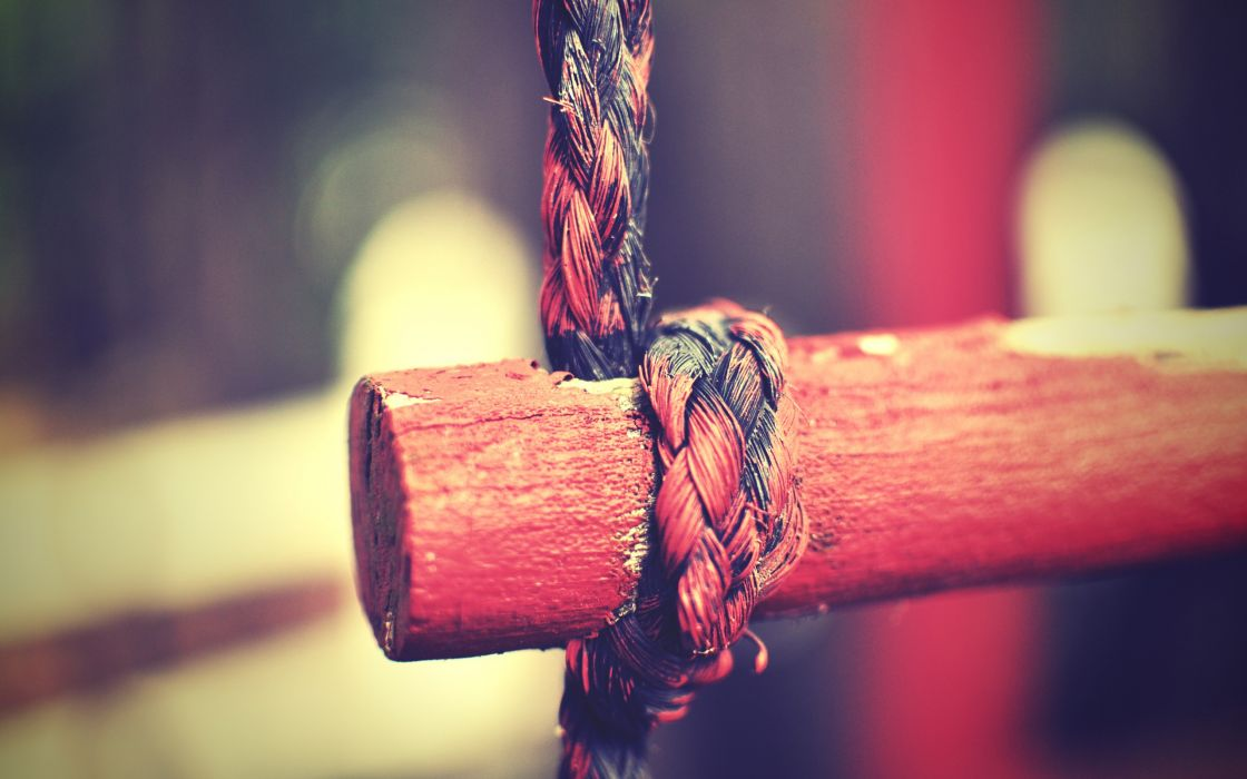 Black and red rope wallpaper