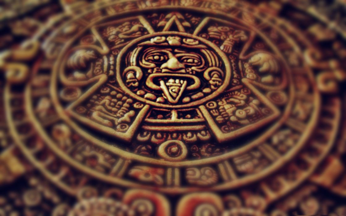 Mayan clock wallpaper