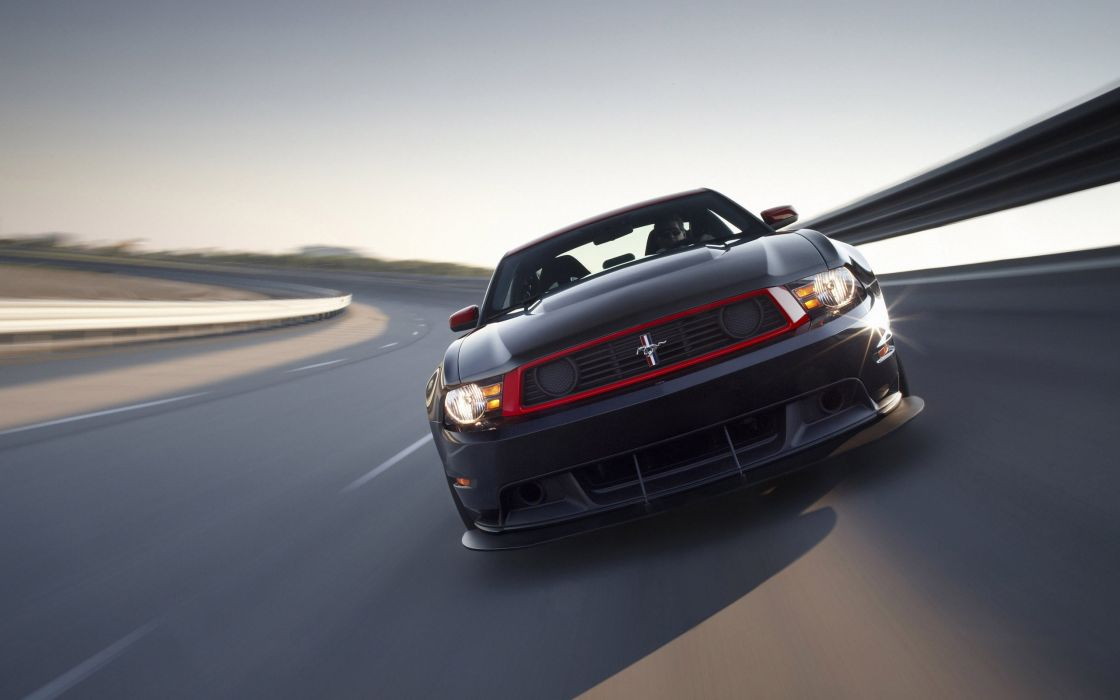 Ford Mustang Boss 302 Laguna Seca wallpaper