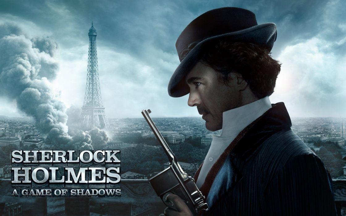 Sherlock Holmes - A game of shadows wallpaper