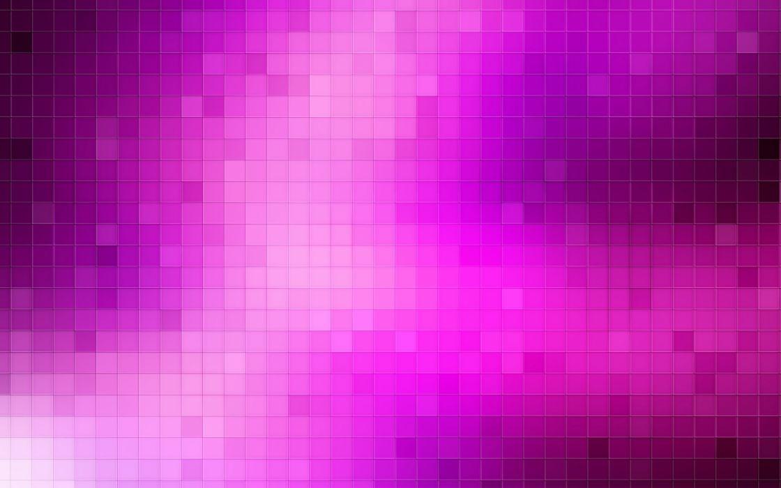 Pink pixels wallpaper