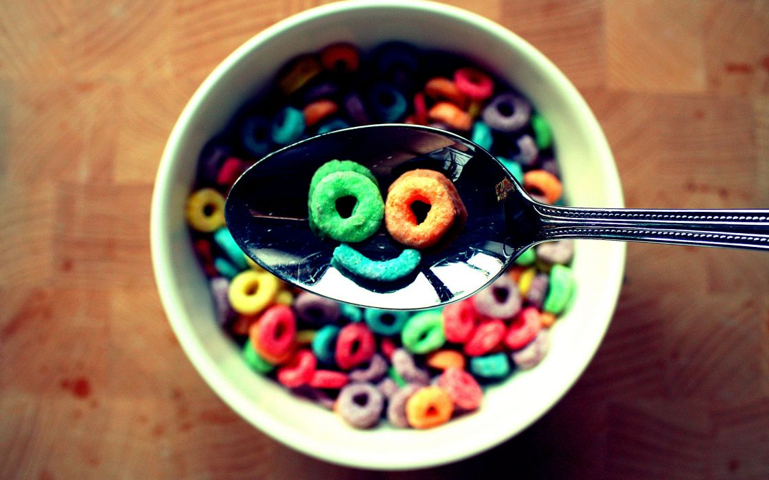 My cereal smile wallpaper