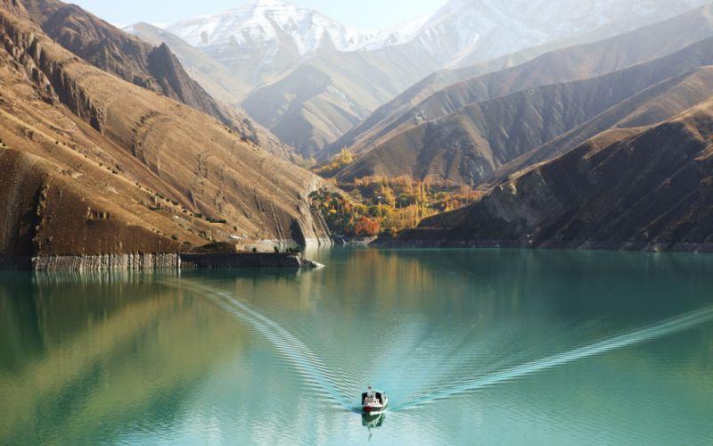 Amir Kabir Dam wallpaper