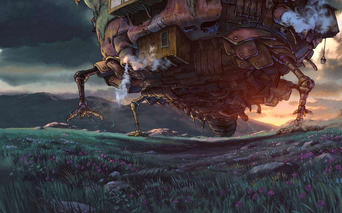 Howl's Moving Castle wallpaper