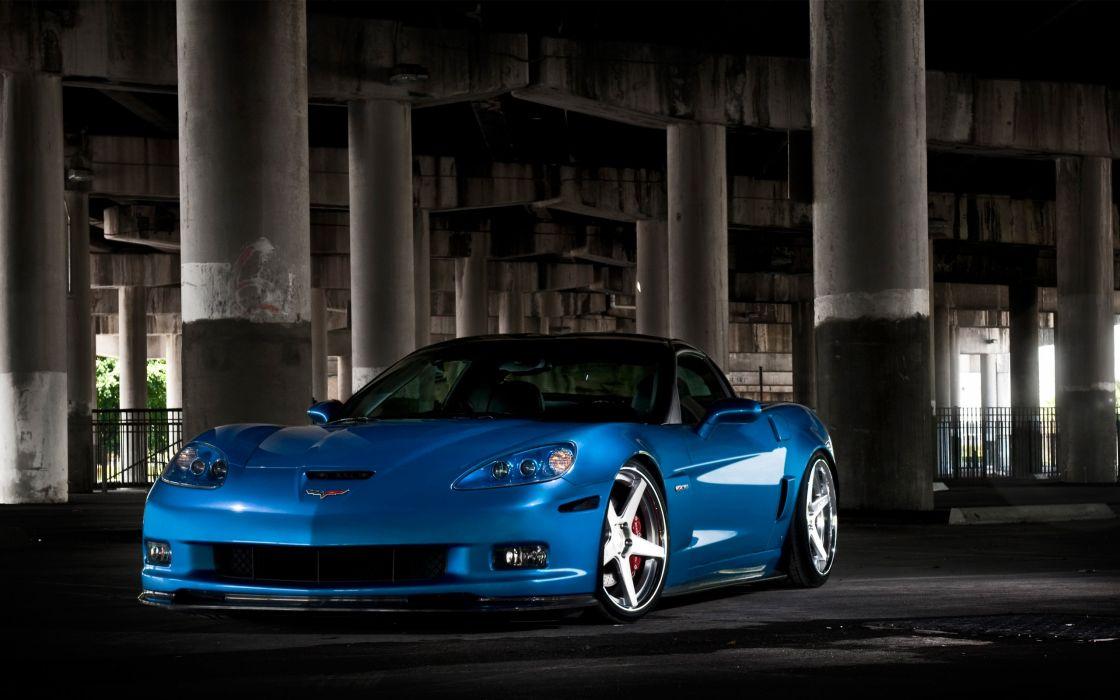 Azure Corvette ADV1 wallpaper