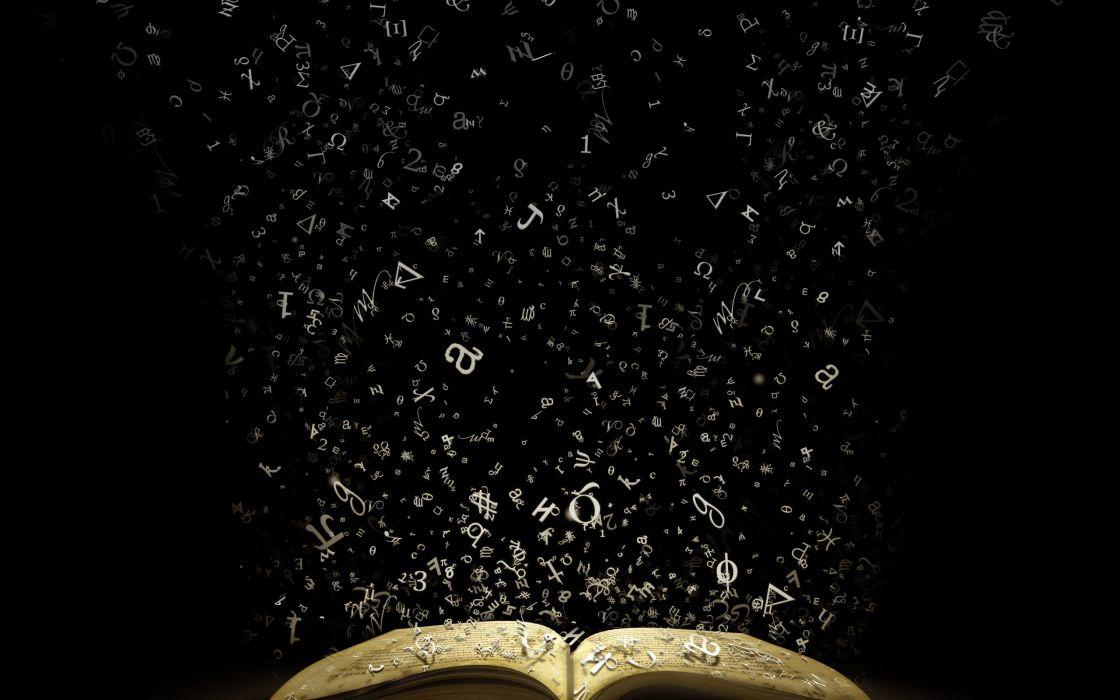 Mystic book wallpaper