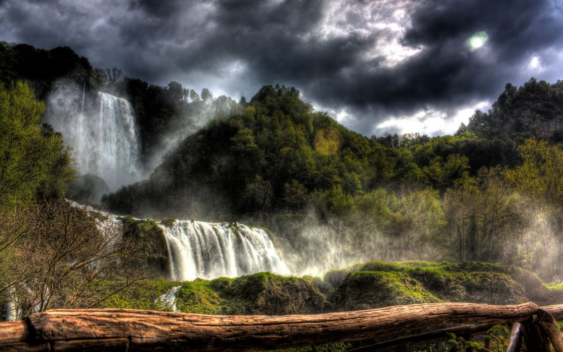 Marmore waterfall wallpaper