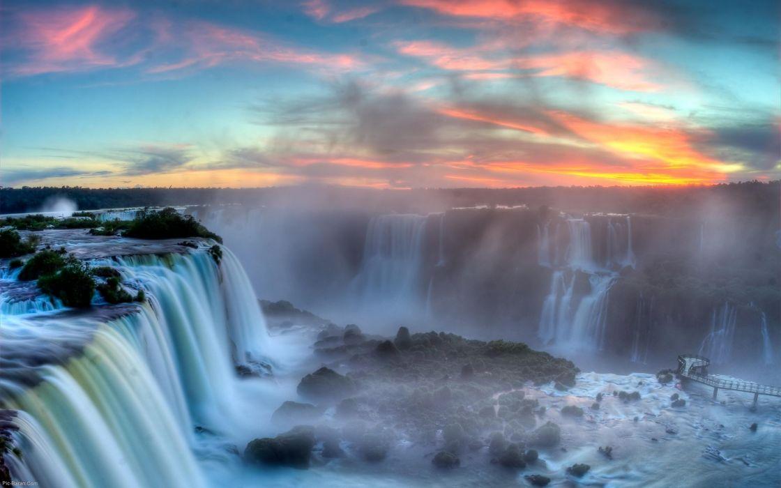 Iguazu falls - Brasil wallpaper