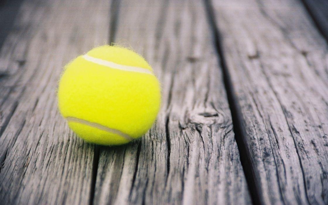 Perfect tennis ball wallpaper