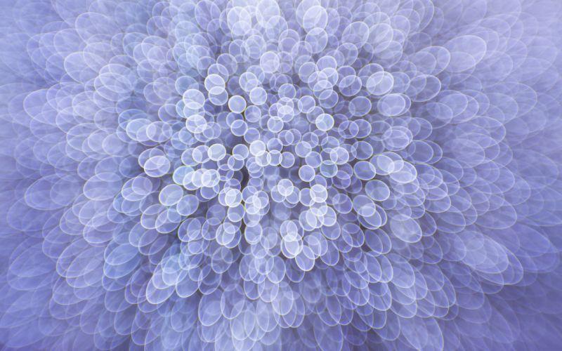 Blurred circles wallpaper