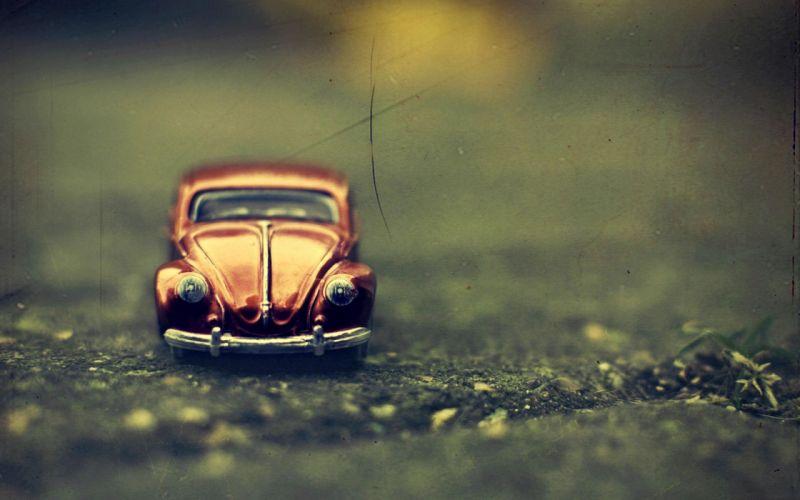 Volkswagen Beetle toy wallpaper